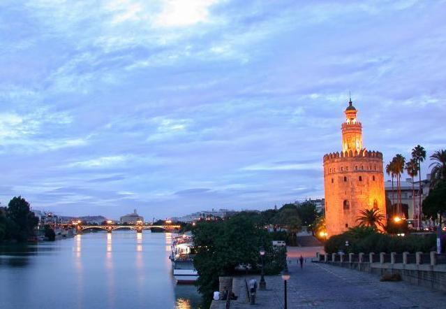 Torre del Oro y Guadalquivir