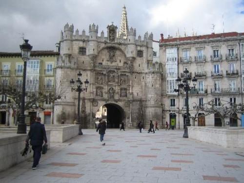 El Arco de Santa María en Burgos