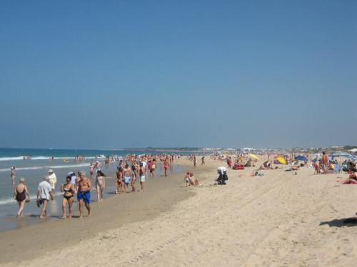 La Barrosa y Sancti Petri, playas en Chiclana