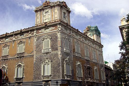 El Museo Nacional de Cerámica en Valencia