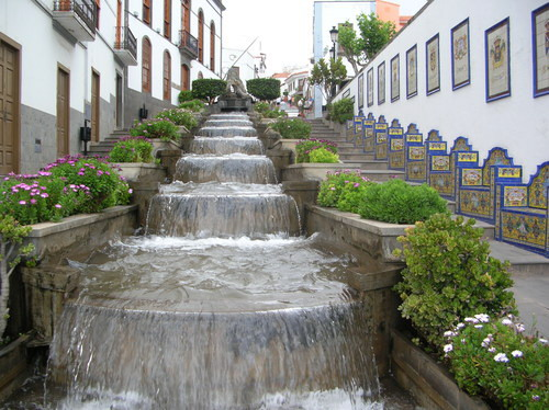 Firgas Spain  city photo : Firgas, la ciudad del agua en Gran Canaria