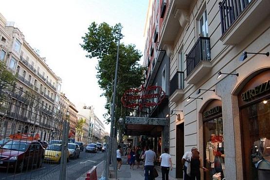 hoteles en el barrio salamanca: