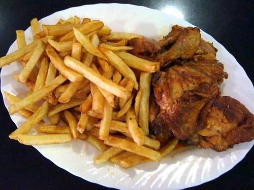 Pollo con mojo