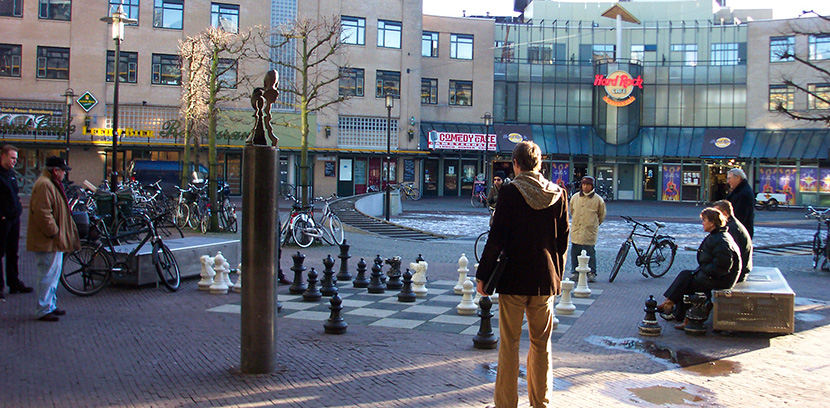 Museo ajedrez amsterdam