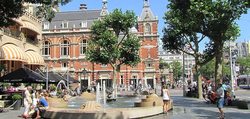 Leidseplein plaza amsterdam